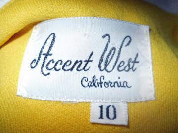 """Rochie """"Accent West California"""" anii '60"""