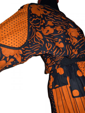 Rochie Portland Orange anii '80