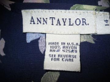 "Rochie retro ""Ann Taylor"" anii '90"
