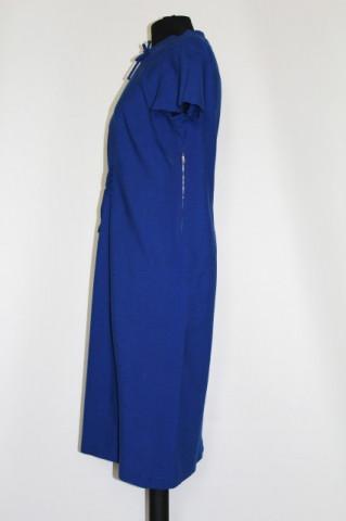 Rochie vintage bleumarin anii '60