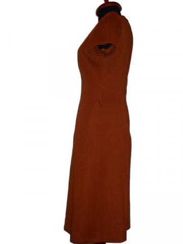 Rochie vintage caramizie anii '60