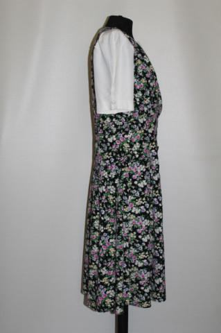 Rochie vintage cu flori roz anii '90