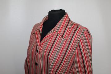 Rochie vintage dungi rosii anii '70