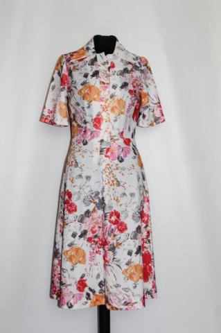 Rochie vintage explozie florala anii '70