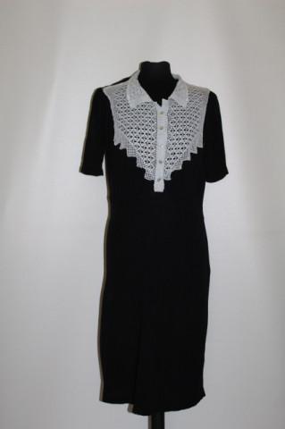 Rochie vintage platcă dantelă anii 40