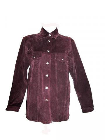 1970s Suede Plum Purple Jacket
