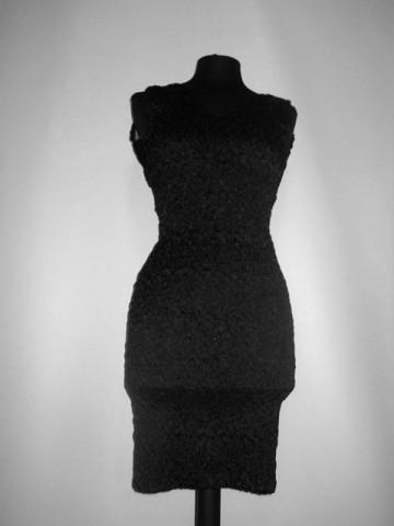 Rochie retro disco neagra anii '80