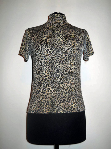 Bluza animal print anii '80- '90
