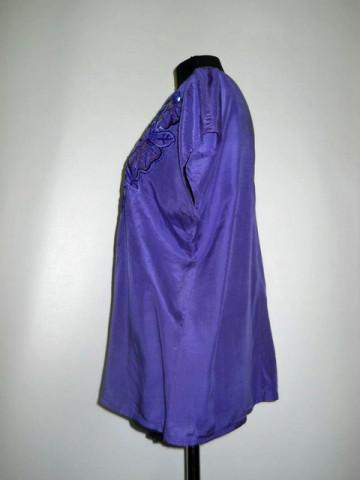 Bluza retro violet anii '80