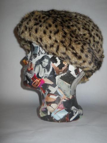 Caciula din blana de ghepard anii '50