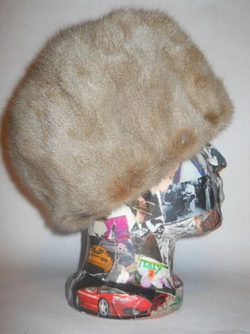 Caciula din blana de zibelina anii '60