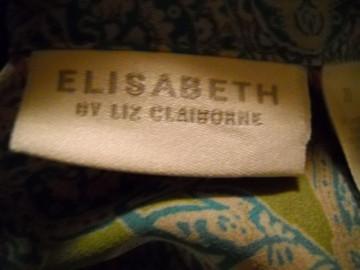 "Camasa jacheta estiva retro ""Liz Clairborne"" anii '80"
