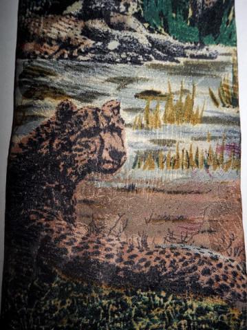 Cravata retro tigri anii '80