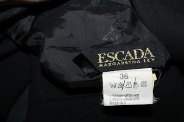 """Deux pieces de ocazie negru """"Escada"""" anii '90"""
