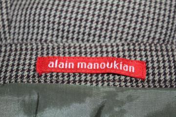 """Fustă pied de poule """"Alain Manoukian"""""""
