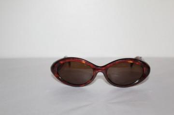Ochelari de soare cat eye animal print anii '80