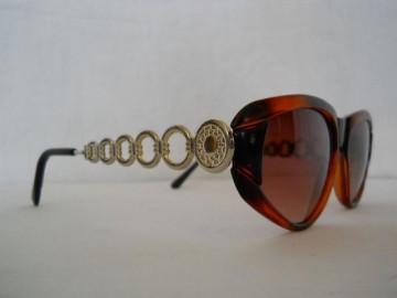 Ochelari de soare retro rame metalice cercuri anii '80