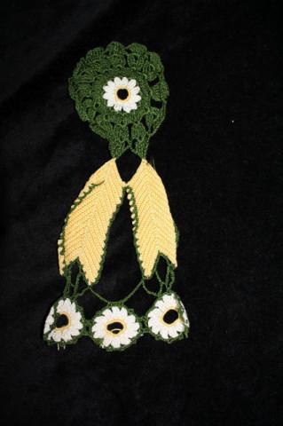 Ornament din dantelă pentru chei anii 50 - 60