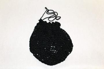 Poseta vintage din crochet anii '70