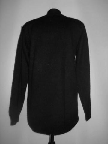 Pulover retro negru paiete anii '80