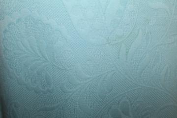 Rochie de seara bleu model in relief anii '60