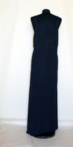Rochie maxi din panza topita anii '80