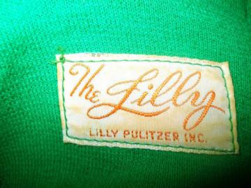 """Rochie maxi vintage """"Lilly Pulitzer"""" anii '70"""