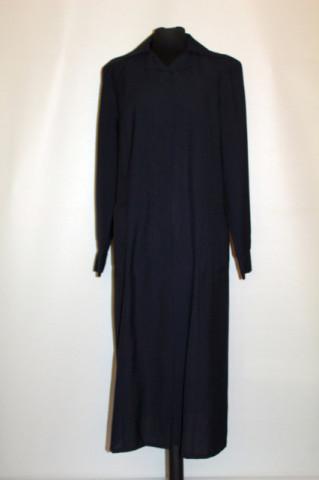 Rochie vintage neagră Trevira anii 70