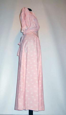 Set vintage matase naturala roz anii '30