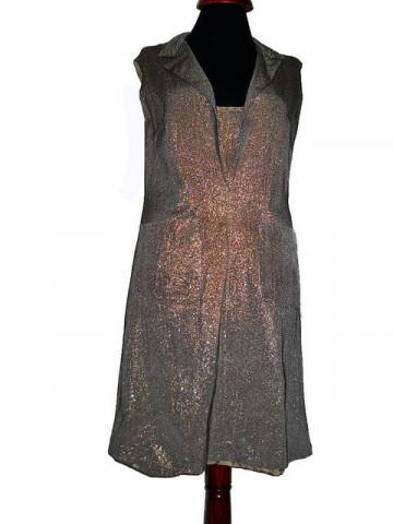 Rochie de ocazie vintage din lurex anii '60