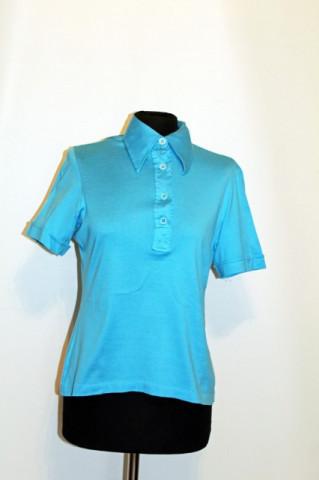 Bluza vintage turcoaz anii '60 - '70