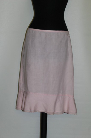 "Fusta roz ""United Colors of Benetton"" anii '90"