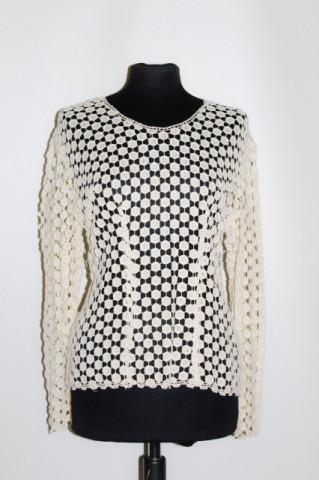 Bluza din dantela ivoire anii '40