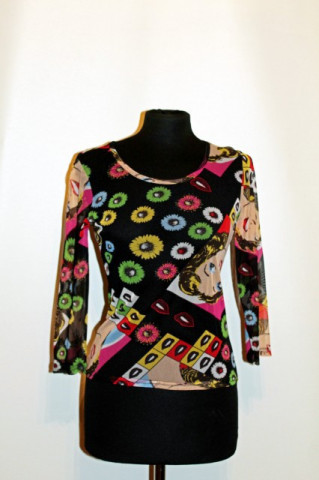 Bluza retro Pop Art anii '90