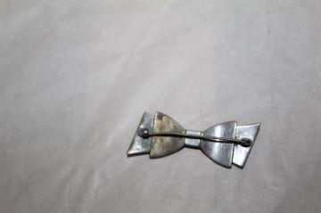 Broșă fundiță cristale perioada edwardiană cca. 1910