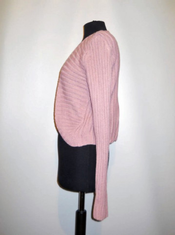 Cardigan roz antic anii '90