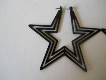 Cercei stele negre anii '70