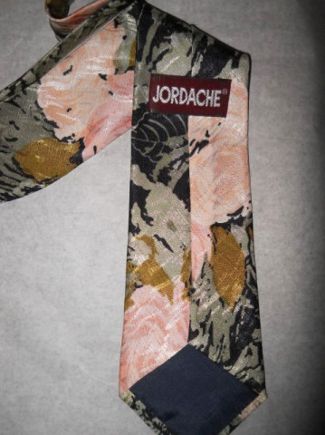 """Cravata retro """"Jordache"""" anii '80"""