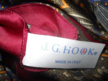 "Esarfa retro ""J. G. Hook"" anii '80"