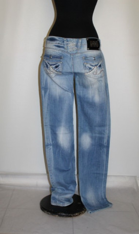 "Jeans aspect uzat ""genie Denim"""