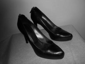 "Pantofi negri ""Bata"""