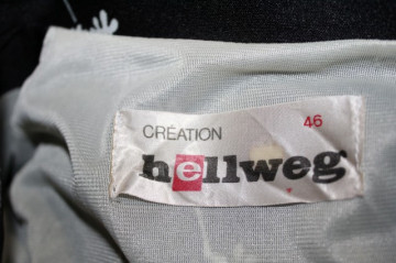 """Rochie """"Creation Hellweg"""" anii '70"""