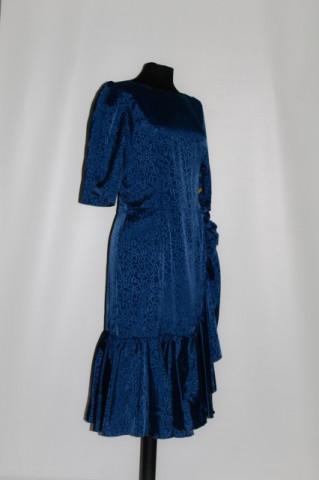 Rochie de ocazie bleumarin anii '70 - '80