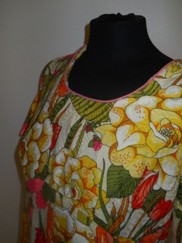 Rochie stil hawaian anii '60