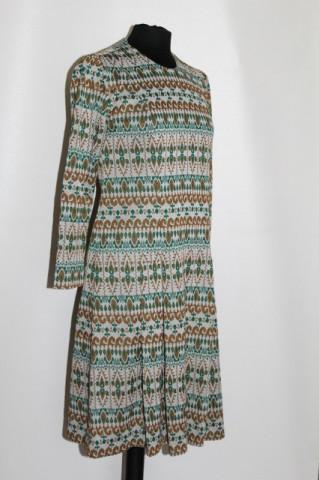 Rochie vintage din jerse anii '60 - '70