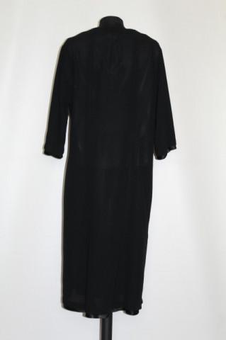 Rochie vintage neagra cu chemise anii '20