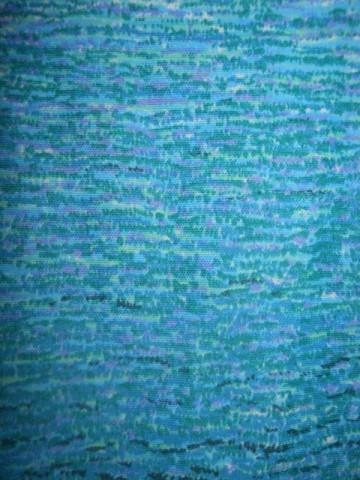 Rochie vintage turcoaz anii '70