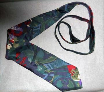 """Cravata retro """"Structure"""" anii '80"""