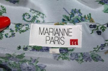 "Camasa retro ""Marianne Paris"" anii '90"