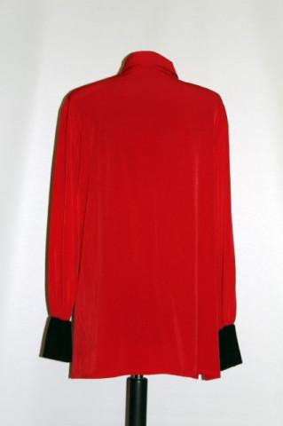 "Camasa retro rosie ""Jean Claire"" anii '80"